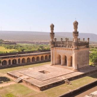 Jama Masjid top view