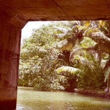 Under the canal