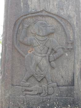 Hanuman story depicted